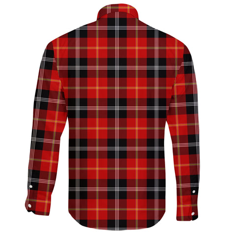 Marjoribanks Tartan Clan Long Sleeve Button Shirt A91