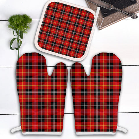 Marjoribanks Clan Tartan Scotland Oven Mitt And Pot-Holder (Set Of Two)