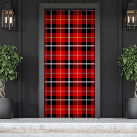 Marjoribanks Tartan Door Sock Cover