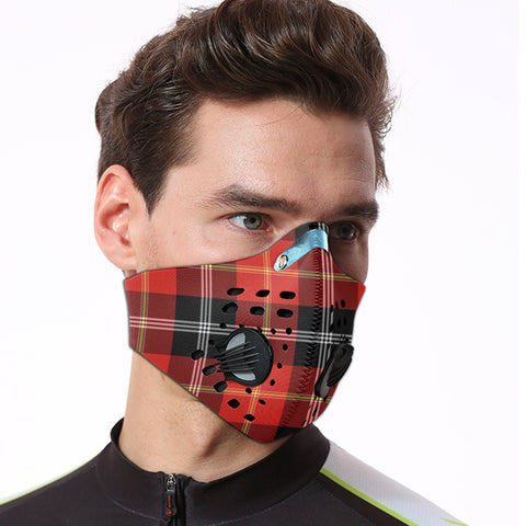 Marjoribanks Tartan Dust-proof Sports Masks ( Model 1) - TH88 (USA Shipping Line)
