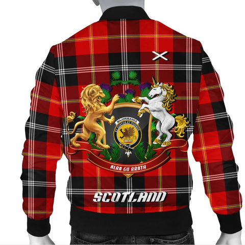 Marjoribanks | Tartan Bomber Jacket | Scottish Jacket | Scotland Clothing