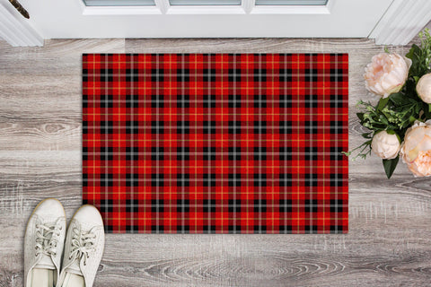 Marjoribanks Tartan Carpets Front Door A91