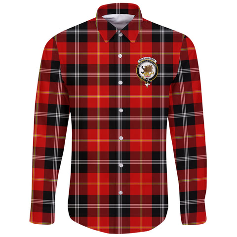 Marjoribanks Tartan Clan Long Sleeve Button Shirt | Scottish Clan