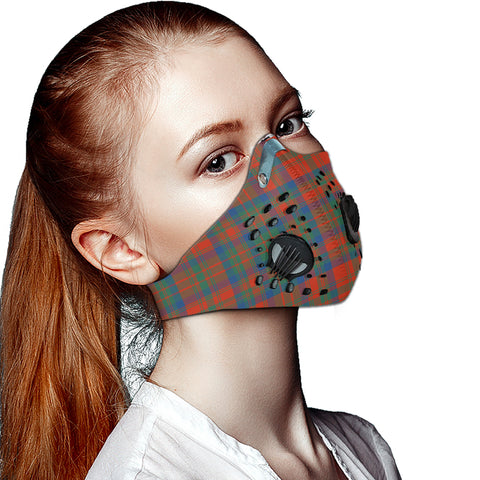 Matheson Ancient Tartan Dust-proof Sports Masks ( Model 1) - TH88 (USA Shipping Line)