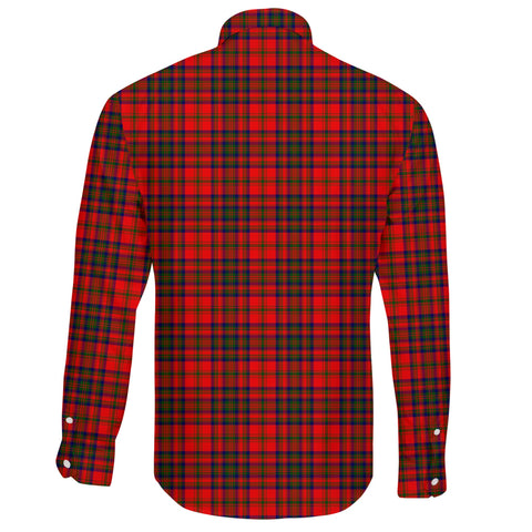 Matheson Modern Tartan Clan Long Sleeve Button Shirt A91
