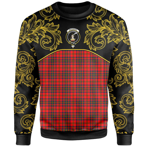 Matheson Modern Tartan Clan Crest Sweatshirt - Empire I - HJT4 - Scottish Clans Store - Tartan Clans Clothing - Scottish Tartan Shopping - Clans Crest - Shopping In scottishclans - Sweatshirt For You