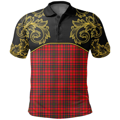 Matheson Modern Tartan Clan Crest Polo Shirt - Empire I - HJT4 - Scottish Clans Store - Tartan Clans Clothing - Scottish Tartan Shopping - Clans Crest - Shopping In scottishclans - Polo Shirt For You