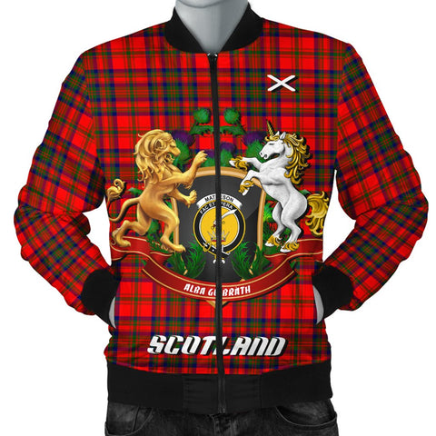Matheson Modern | Tartan Bomber Jacket | Scottish Jacket | Scotland Clothing