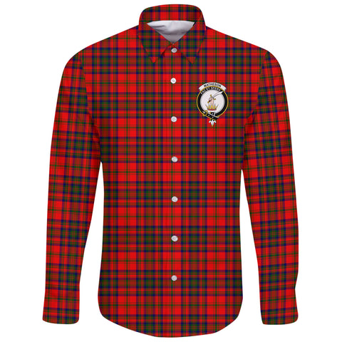 Matheson Modern Tartan Clan Long Sleeve Button Shirt | Scottish Clan