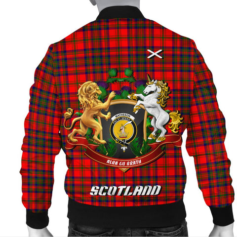 Image of Matheson Modern | Tartan Bomber Jacket | Scottish Jacket | Scotland Clothing