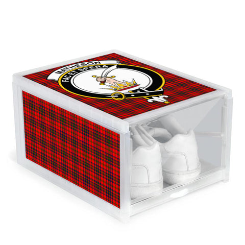 Matheson Modern Clan Crest Tartan Scottish Shoe Organizers