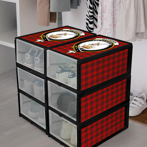 Matheson Modern Clan Crest Tartan Scottish Shoe Organizers K9