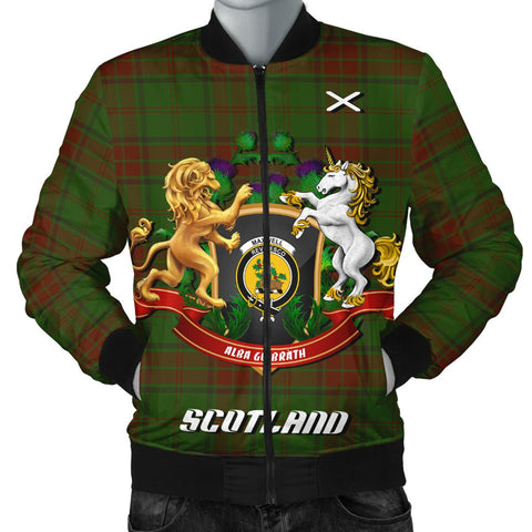 Maxwell Hunting | Tartan Bomber Jacket | Scottish Jacket | Scotland Clothing