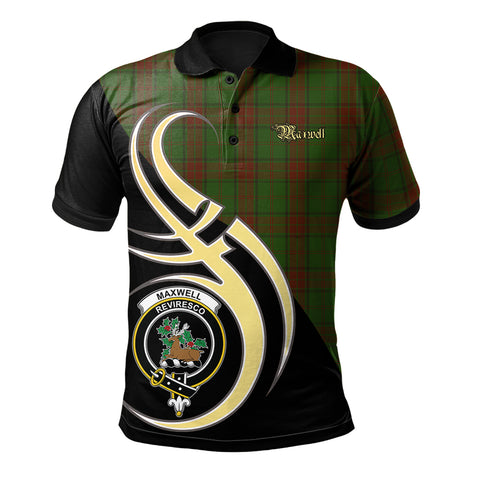 Image of Maxwell Hunting Clan Believe In Me Polo Shirt