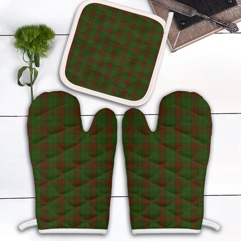 Maxwell Hunting Clan Tartan Scotland Oven Mitt And Pot-Holder (Set Of Two)