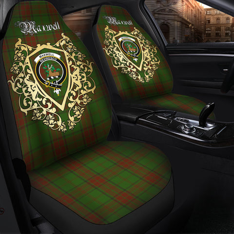 Maxwell Hunting Clan Car Seat Cover Royal Sheild