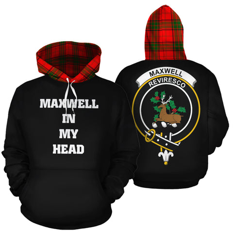 Maxwell Modern In My Head Hoodie Tartan Scotland K9