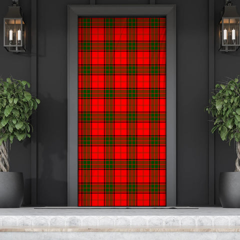 Maxwell Modern Tartan Door Sock Cover