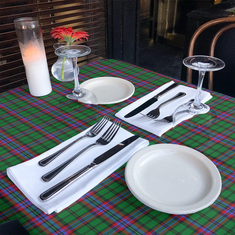 McGeachie Tartan Tablecloth | Home Decor