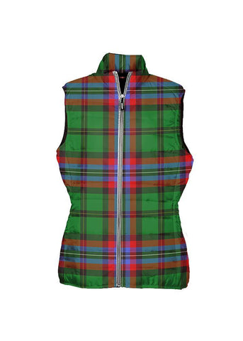 McGeachie Tartan Puffer Vest for Men and Women K7