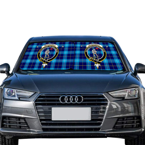 McKerrell Clan Crest Tartan Scotland Car Sun Shade 2pcs