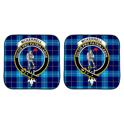 McKerrell Clan Crest Tartan Scotland Car Sun Shade 2pcs K7