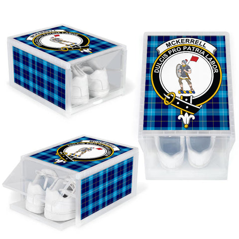McKerrell Clan Crest Tartan Scottish Shoe Organizers K9
