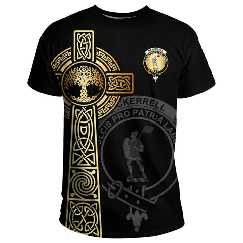 McKerrell T-shirt Celtic Tree Of Life Clan Black Unisex A91