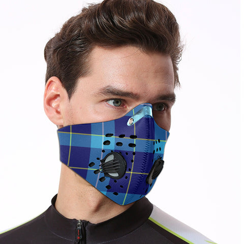 Image of McKerrell Tartan Dust-proof Sports Masks ( Model 1) - TH88 (USA Shipping Line)