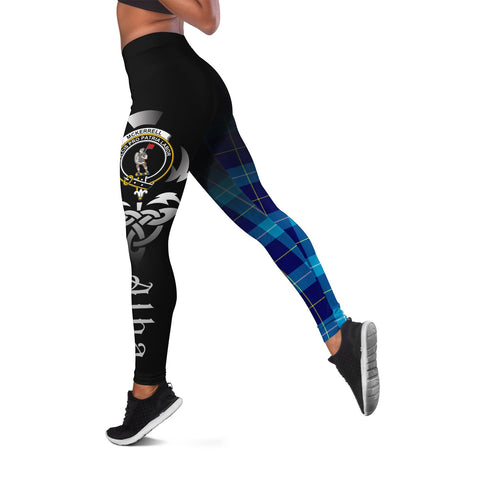 McKerrell Crest Tartan Alba Celtic Leggings | Over 500 Tartans | Special Custom Design