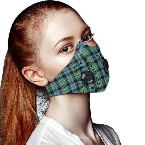Melville Tartan Dust-proof Sports Masks ( Model 1) - TH88 (USA Shipping Line)