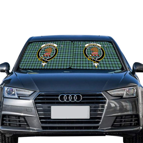 Melville Clan Crest Tartan Scotland Car Sun Shade 2pcs