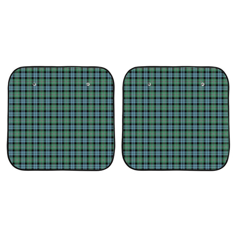 Melville Clan Tartan Scotland Car Sun Shade 2pcs K7