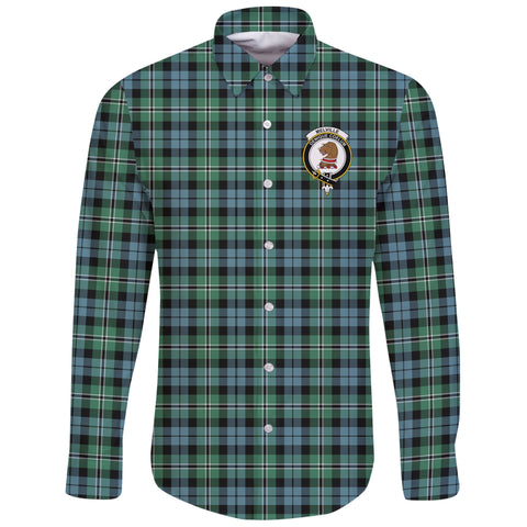 Melville Tartan Clan Long Sleeve Button Shirt | Scottish Clan