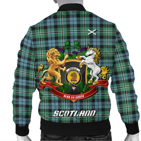 Melville | Tartan Bomber Jacket | Scottish Jacket | Scotland Clothing