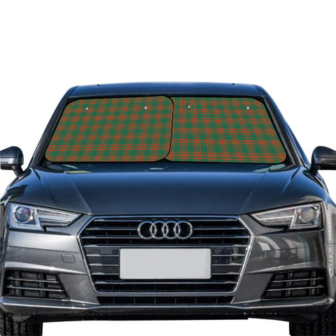 Menzies Green Ancient Clan Tartan Scotland Car Sun Shade 2pcs