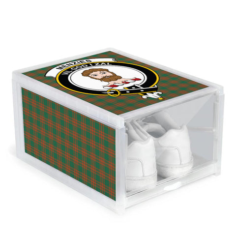 Menzies Green Ancient Clan Crest Tartan Scottish Shoe Organizers