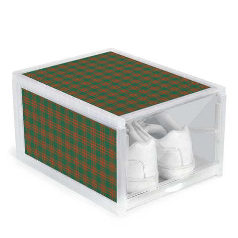 Menzies Green Ancient Clan Tartan Scottish Shoe Organizers
