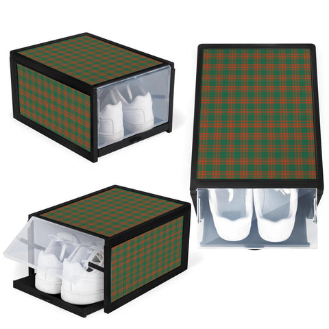 Menzies Green Ancient Clan Tartan Scottish Shoe Organizers K9