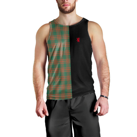 Menzies Green Ancient Clan Tank Top Lion Rampant