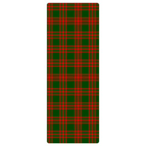 Menzies Green Modern Clan Tartan Yoga mats