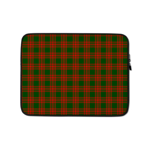 Menzies Green Modern Laptop Sleeve