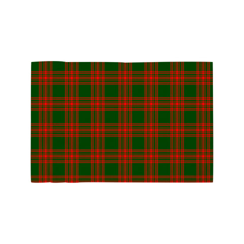 Menzies Green Modern Clan Tartan Motorcycle Flag