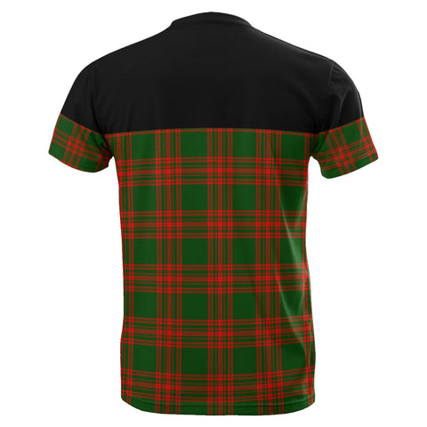Tartan Horizontal T-Shirt - Menzies Green Modern - BN
