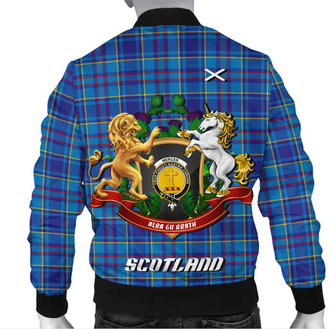 Mercer Modern | Tartan Bomber Jacket | Scottish Jacket | Scotland Clothing