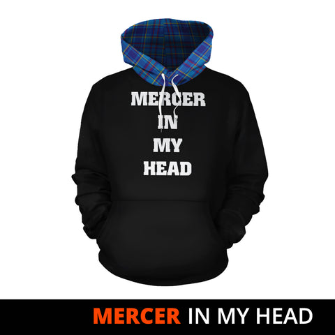 Mercer Modern In My Head Hoodie Tartan Scotland K9