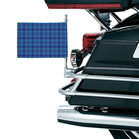 Mercer Modern Clan Tartan Motorcycle Flag