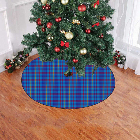 Mercer Modern Tartan Tree Skirt Christmas