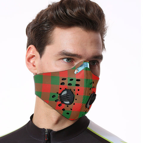 Moncrieffe Tartan Dust-proof Sports Masks ( Model 1) - TH88 (USA Shipping Line)
