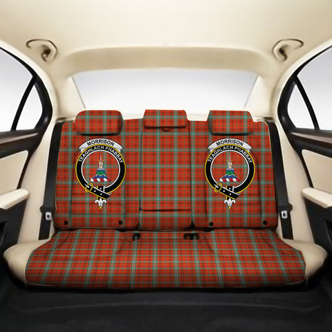 Morrison Red Ancient Clan Crest Tartan Back Car Seat Covers A7